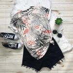 FLAMINGO ALL OVER PRINT T-SHIRT 7