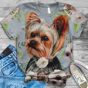 Yorkshire Terrier Lovely Cutie T-SHIRT 4