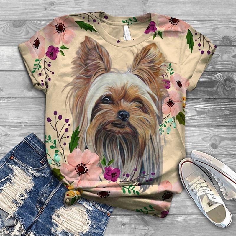 Yorkshire Terrier Lovely Cutie T-SHIRT 7