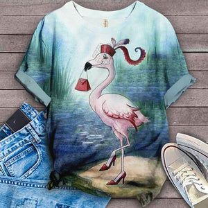 Flamingo Lovers Classic T-Shirt 36