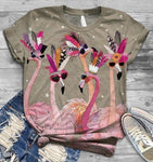 Flamingo Lovers Classic T-Shirt 28