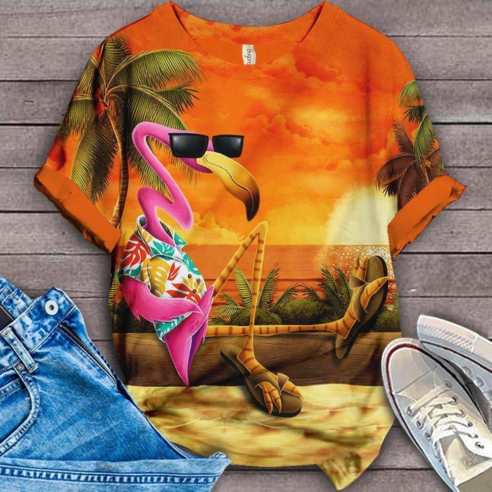 Flamingo Lovers Classic T-Shirt 9