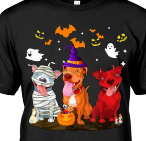 Pitbull Halloween Classic T-Shirt