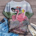 Flamingo Lovers Classic T-Shirt 7