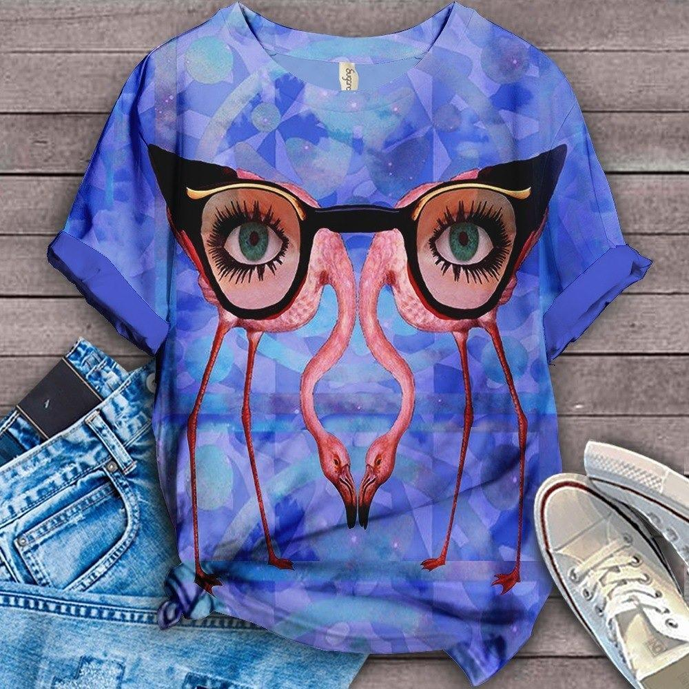 Flamingo Lovers Classic T-Shirt 6