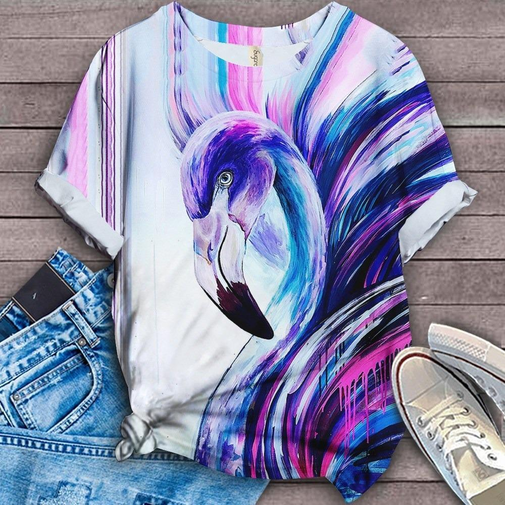 Flamingo Lovers Classic T-Shirt 2