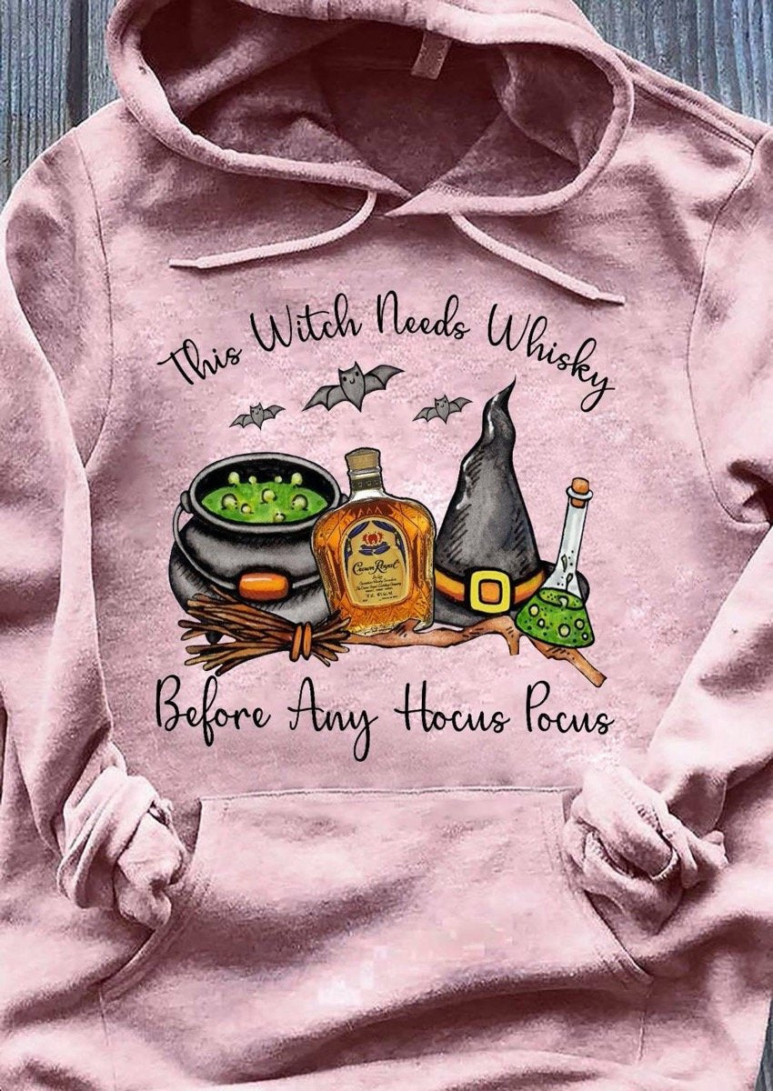 Crown Royal Witch Hoodie
