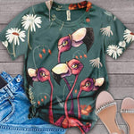 Flamingo Lovers Classic T-Shirt 27