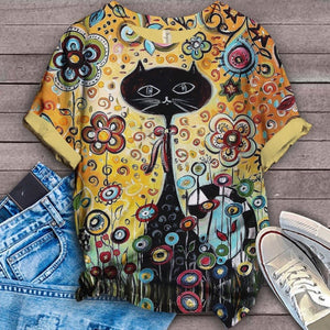 Cat Urban Love You T-Shirt 50