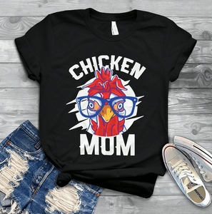Chicken Mom Tshirt