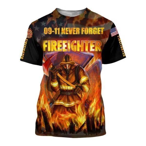 FIREFIGHTER ALL OVER PRINTING AZS0014