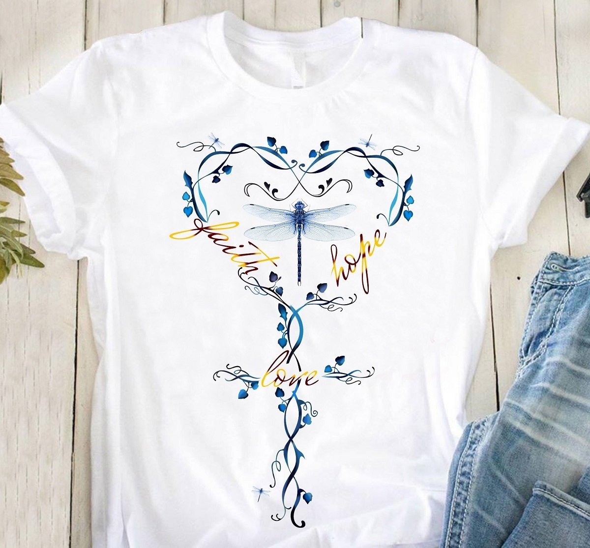 Dragonfly Heart T-Shirt