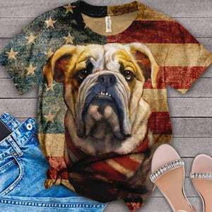 Bulldog English  lovers classic TS 13