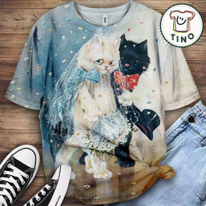 Cat Urban Love You T-Shirt 56