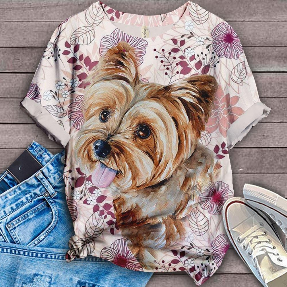 Yorkshire Terrier Lovely Cutie T-SHIRT 8