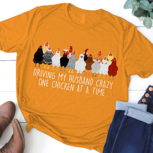 Chicken Fabulous Unique Design Art T-Shirt 13