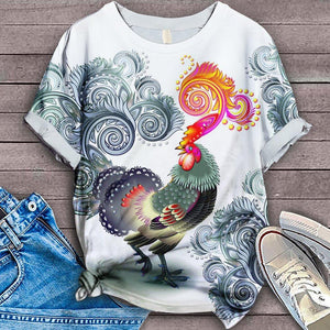 Chicken Fabulous Unique Design Art T-Shirt 26