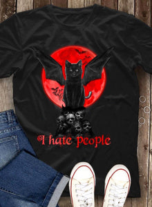 Cat Halloween Charming T-Shirt