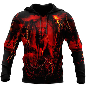 Wolf 3D All Over Printed Hoodie For Men and Women AM082070-TN