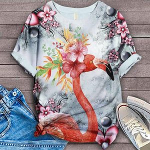 Flamingo Lovers Classic T-Shirt 45