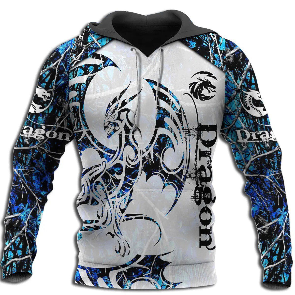 3D Tattoo and Dungeon Dragon Hoodie T Shirt For Men and Women NM050945