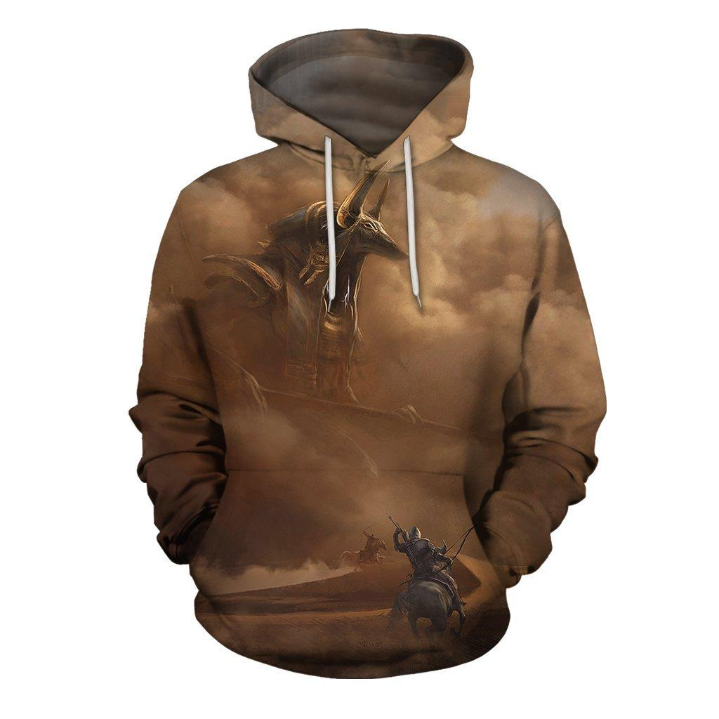 3D All Over Print Anubis Assassin's Creed Origins Hoodie