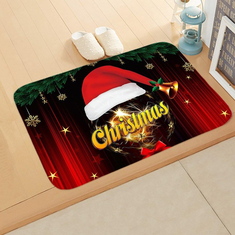 Doormat Merry Christmas Decor for Home KT06