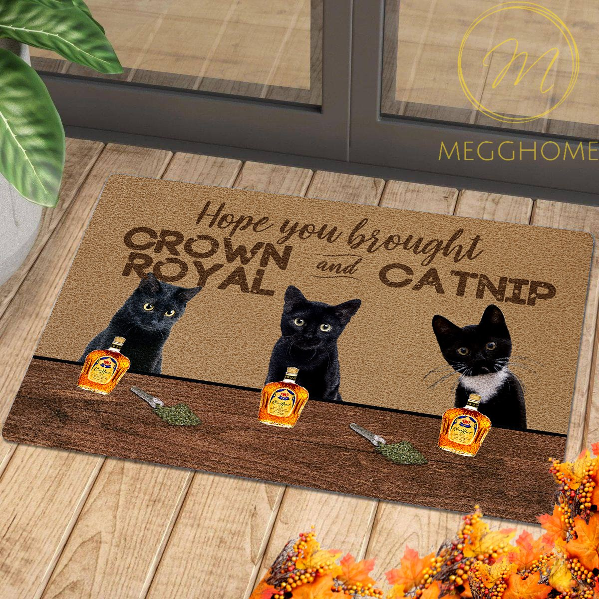 Welcome to Wine and Cats Club Doormat 6
