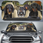 Durable Car Sunshade - Cool Pets Collection
