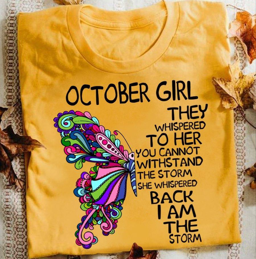 October Girls T-Shirt