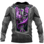 3D Tattoo and Dungeon Dragon Hoodie HAC27121