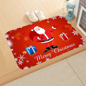 Doormat Merry Christmas Decor for Home KT03
