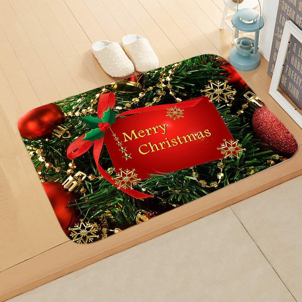 Doormat Merry Christmas Decor for Home KT13