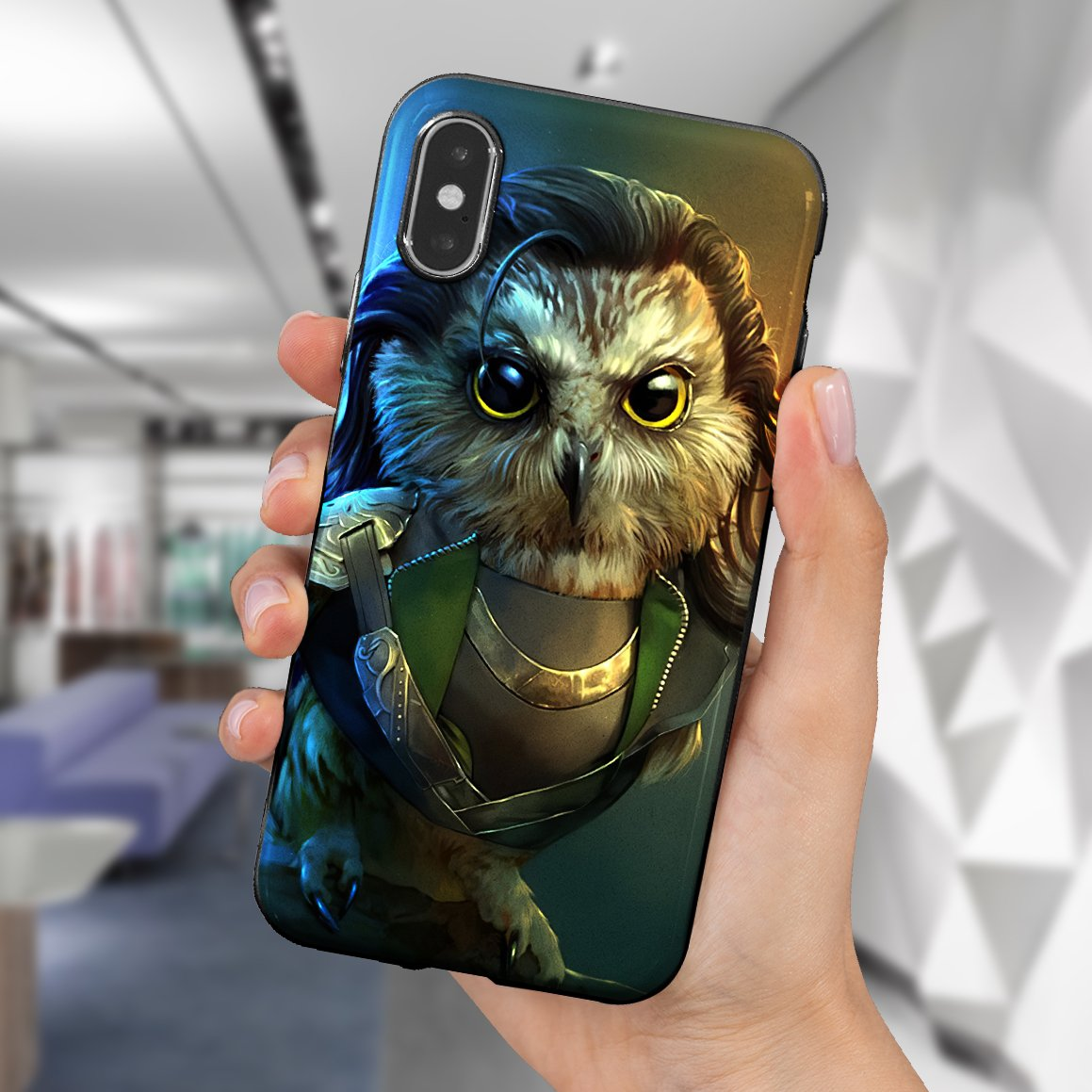 The Owlvengers phone case 5