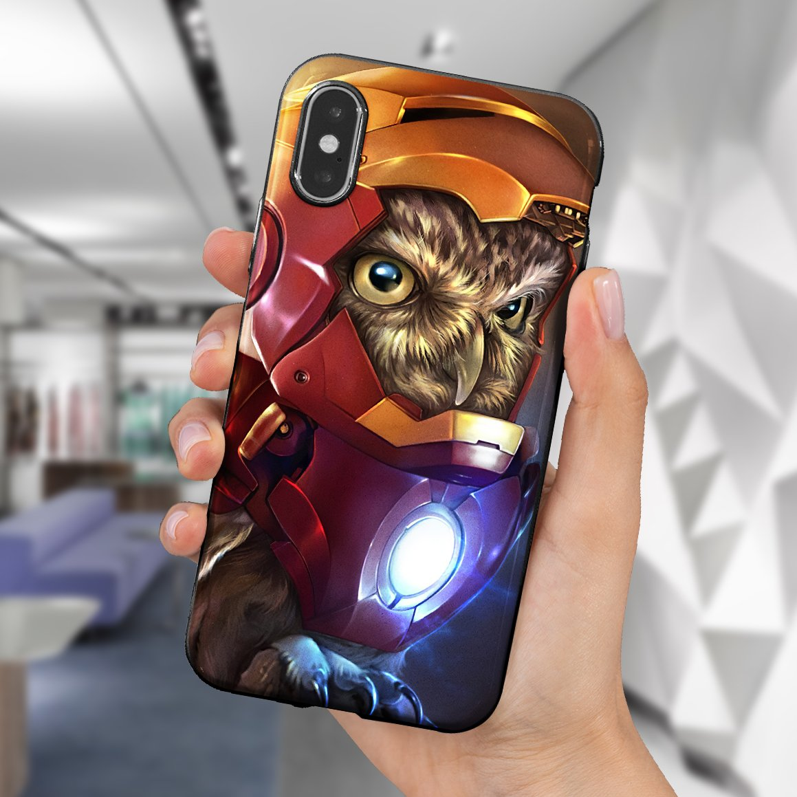 The Owlvengers phone case 1