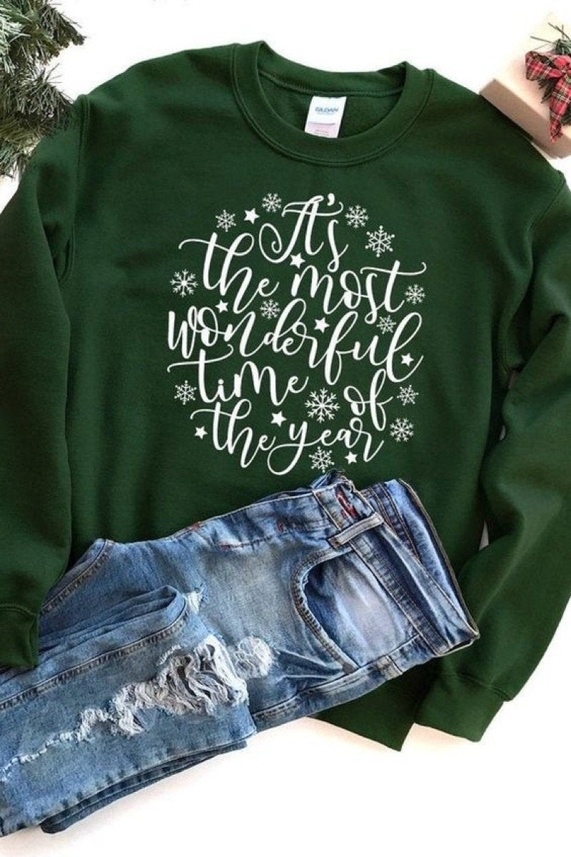 Christmas It's the most wonderful time of the year Sweatshirt 3