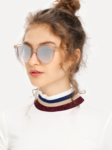 Mirror Lens Cat Eye Sunglasses-An Eternal Summer
