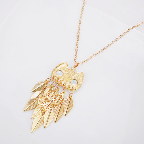 Owl Necklace-An Eternal Summer