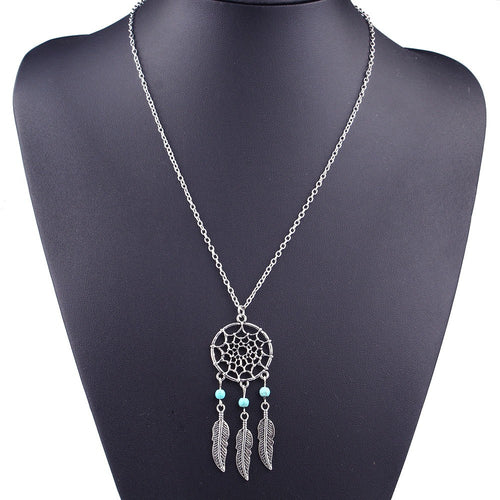 Dream Catcher Necklace-An Eternal Summer