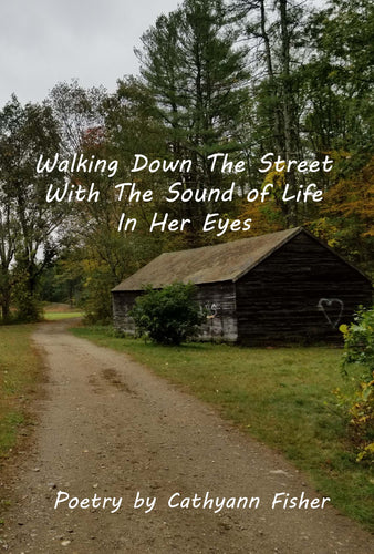 Walking Down The Street With The Sound of Life In Her Eyes