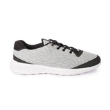 Avant Men's Mesh Performance Running & Gym Shoes - Grey/Black