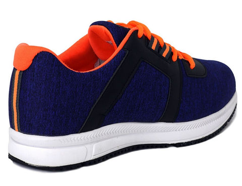 Zod Running And Workout Shoes - Navy/Orange