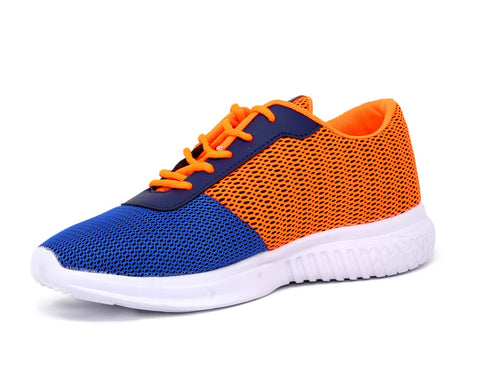 Navy Blue/Orange