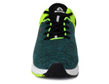 Green/Neon Green Shoe (front view)