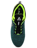 Green/Neon Green Shoe (top view)