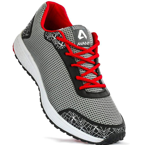 Lightweight Sports Shoes - Grey/Black