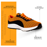 Terror Running and Training Shoes - Orange/Black
