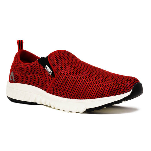 Slip On Sports Shoes (Red)
