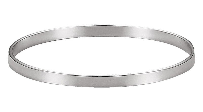 Sterling Silver 4.75 mm Bangle Bracelet