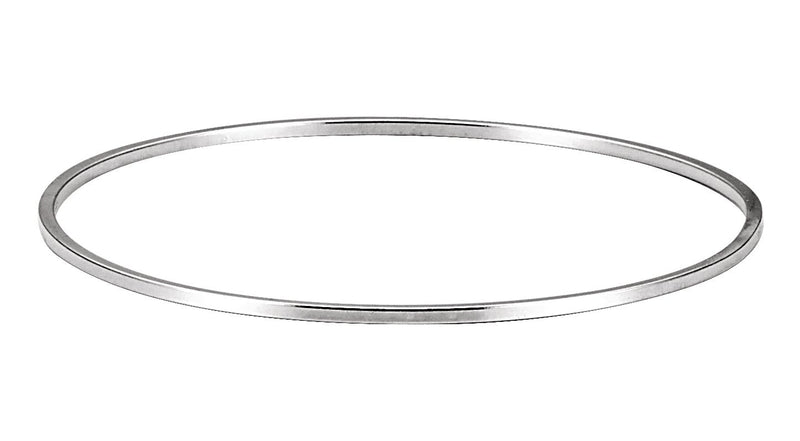 Sterling Silver 1.75 mm Bangle Bracelet